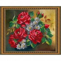«Светлица» набор для вышивания бисером №106 «Палитра лета» бисер Чехия 48x38 см