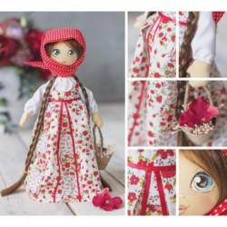 Интерьерная кукла «Василина», набор для шитья, 18 x 22.5 x 2.5 см