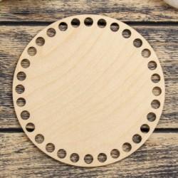 Заготовка для вязания 'Круг' 15 см фанера