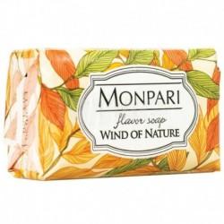Monpari мыло туалетное твердое Wind of Nature (дыхание природы) 200г