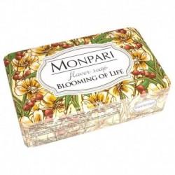Monpari мыло туалетное твердое Blooming of Life (цветение жизни), 200 г