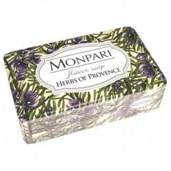 Monpari мыло туалетное твердое Herbs of Provence (травы прованса), 200 г