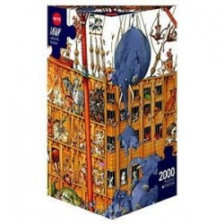 Puzzle-2000 'Ноев ковчег' Loup, Arche Noah (25475)