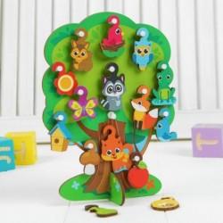 Игрушка с крючками «Лесное дерево»