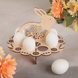 Подставка для пасхальных яиц «Зайчик», 20×20×16 см