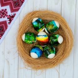 Пасхальная термоусадочная плёнка 'Природа' на 7 яиц