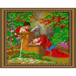 «Светлица» набор для вышивания бисером №322 «Романтика» бисер Чехия 24x19см