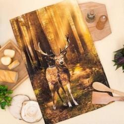 Полотенце «Этель: Лес», 40 x 67 см, хлопок 100 %, саржа, 190 г/м2