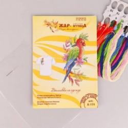 Набор для вышивания «Попугай» 9x19 см