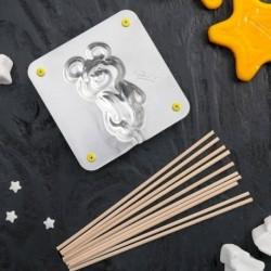 Набор для приготовления леденцов и мармелада «Медведь», цвет МИКС
