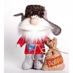 Набор для шитья текстильной игрушки 'Домовой' 17 см