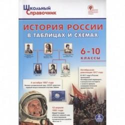 История России в таблицах и схемах 6-10кл