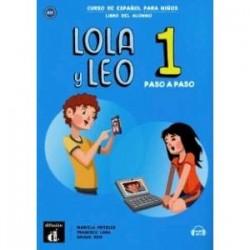 Lola y Leo Paso a paso 1 Libro + MP3 descargable