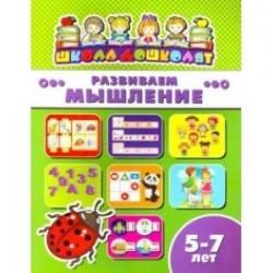 Книжка РАЗВИВАЕМ МЫШЛЕНИЕ. 5-7 лет (45017)