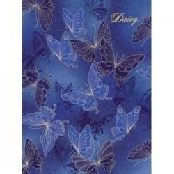 Ежедневник недатированный 'Бабочки на синем'