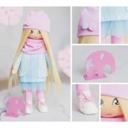 Интерьерная кукла «Клэр», набор для шитья, 18 x 22.5 x 3 см