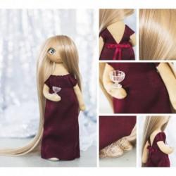 Интерьерная кукла «Лорен», набор для шитья, 18 x 22.5 x 3 см