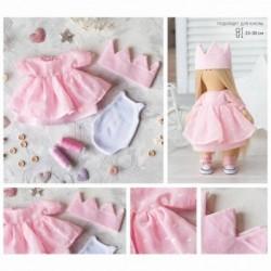Одежда для куклы «Принцесса», набор для шитья, 21 x 29.7 x 0.7 см