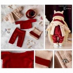 Одежда для куклы «Тепло», набор для шитья, 21 x 29.7 x 0.7 см