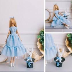 Мягкая кукла «Алисия», набор для шитья 21 x 0,5 x 29,7 см