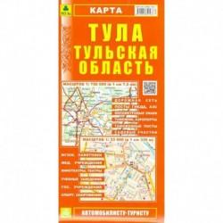 Карта. Тула. Тульская область