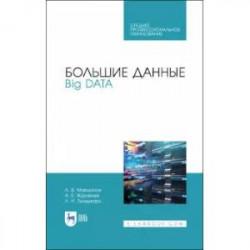 Большие данные. Big Data. Учебное пособие для СПО
