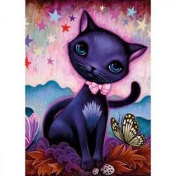 Puzzle-1000 'Черный котенок, Ketner'
