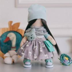 Мягкая кукла Лина, набор для шитья 15,6x22,4x5,2 см