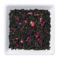 Черный чай с лепестками розы, 100 г