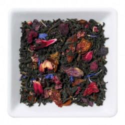 Черный чай с гранатом, малиной, облепихой , 100 г