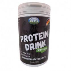 Протеиновый коктейль со вкусом клубники, 500г