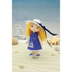 Набор для создания куклы из фетра Серия «Подружки» «Малышка Софи», 15 см