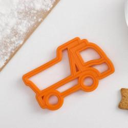 Форма для печенья и пряников Леденцовая фабрика «Грузовик», 11,5x7,5x1,5 см