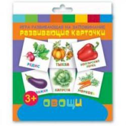 Развивающие карточки 'Овощи' (12 штук)