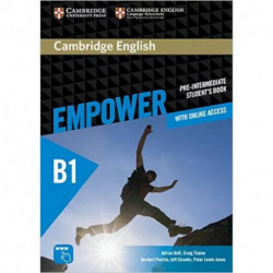 Cambridge English Empower Pre-intermediate Student's Book with Online Assessment and Practice