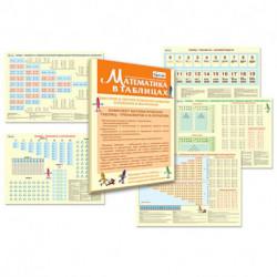 Математика в таблицах. Методический набор
