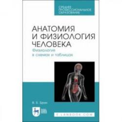 Анатомия и физиология человека в схемах и таблицах. Учебное пособие