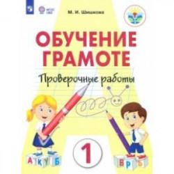 Обучение грамоте. 1 класс. Проверочные работы. Ааптированные программы