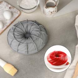 Форма для муссовых десертов и выпечки «Вихрь», 20x7 см, цвет МИКС