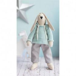 Мягкая игрушка «Домашний зайка Банни», набор для шитья, 18 x 22 x 3.6 см