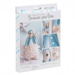 Мягкая игрушка «Домашняя зайка Фанни», набор для шитья, 18 x 22 x 3,6 см