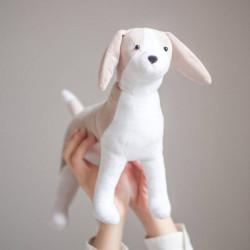 Мягкая игрушка «Плюшевая собачка Чаффи», набор для шитья, 18,5 x 22,8 x 2,5 см