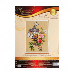 Набор для вышивания крестом «Свет очарования» 17 x 23 см