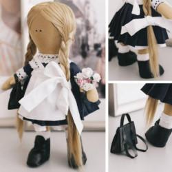 Интерьерная кукла «Школьница Николь», набор для шитья 15,6 x 22.4 x 5.2 см