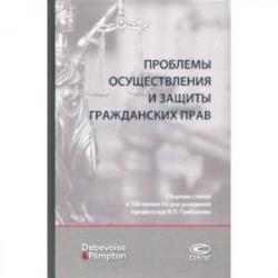Проблемы осуществления и защиты гражданских прав. Сборник статей