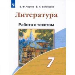 Литература. 7 класс. Работа с текстом