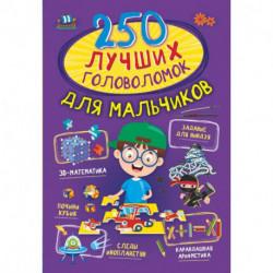 250 лучших головоломок для мальчиков