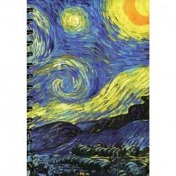 Скетчбук. А5. Ван Гог. Звездная ночь.