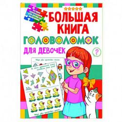 Большая книга головоломок для девочек
