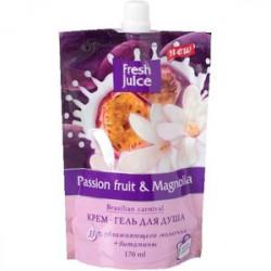 Гель для душа 'Passion fruit & Magnolia'.  170 мл